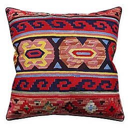 HUI Resource Celebrating Canada Square Throw Pillow in Red/Navy