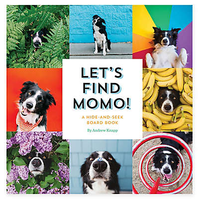 """""""Let's Find Momo!"""" A Hide-And-Seek Board Book by Andrew Knapp"""