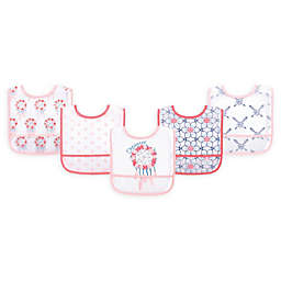 Yoga Sprout 5-Pack Waterproof Bibs