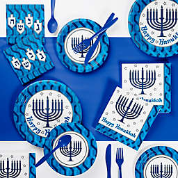 Creative Converting™ 73-Piece Menorah Party Supplies Kit
