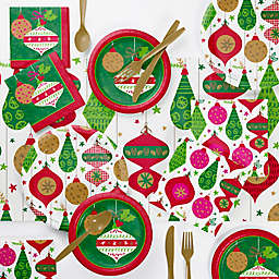 Creative Converting™ 73-Piece Glittering Ornaments Party Supplies Kit
