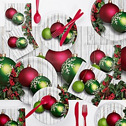 Creative Converting™ 73-Piece Christmas Ornaments Party Supplies Kit