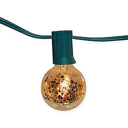 Globe Electric String Lights with Gold Mercury Finish (25 Lights)