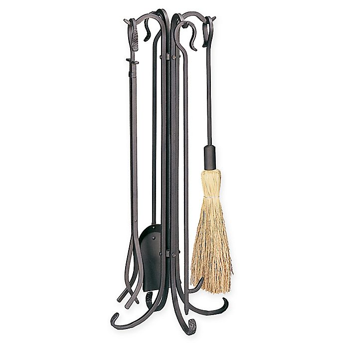 Alternate image 1 for UniFlame® 5-Piece Fireplace Tool Set in Bronze
