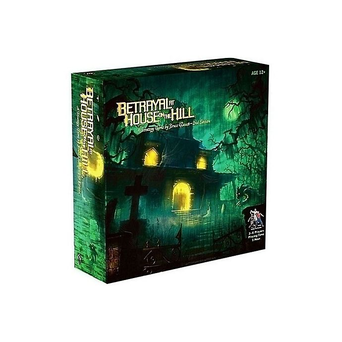 Alternate image 1 for Avalon Hill Betrayal at House on the Hill Strategy Game