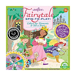 eeBoo Fairytale Spin-to-Play Kids Game