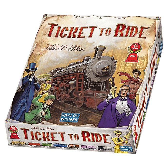 Alternate image 1 for Ticket to Ride Strategy Game