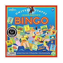 eeBoo United States Geography Bingo Educational Game