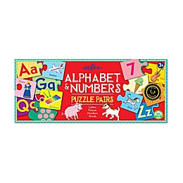Alphabet & Numbers Puzzle Pairs Educational Game
