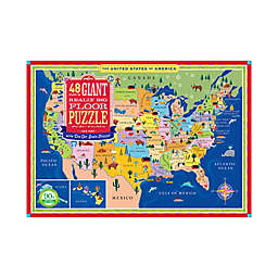 eeBoo Giant Really Big 48-Piece USA Map Floor Puzzle
