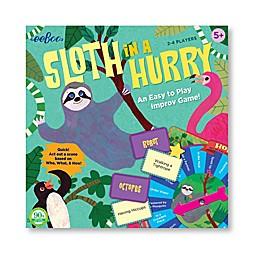 eeBoo Sloth in a Hurry Kids Game