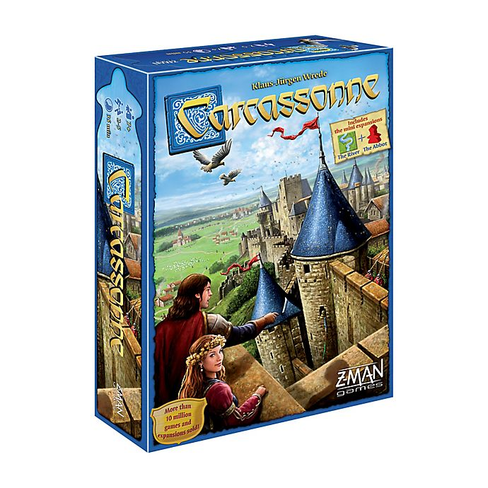 Alternate image 1 for Z-Man Games Carcassonne Strategy Game