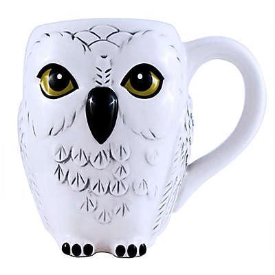 Harry Potter Hedwig 20 oz. Sculpted Mug in White