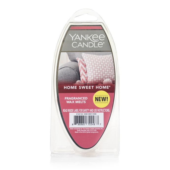 Yankee Candle Home Sweet Home 6 Pack Fragrance Wax Melts Bed Bath Beyond