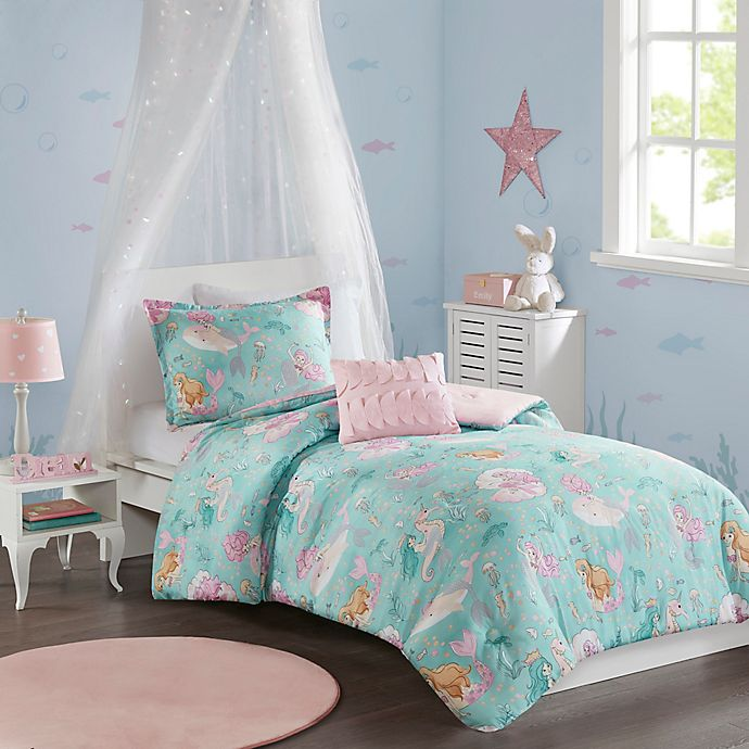 Alternate image 1 for Mi Zone Kids Darya Reversible Bedding Collection