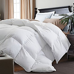 Kathy Ireland® White Goose Feather and Goose Down Comforter