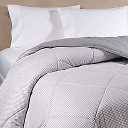 The Seasons Collection® HomeGrown™ Ticking Stripe Flannel Comforter