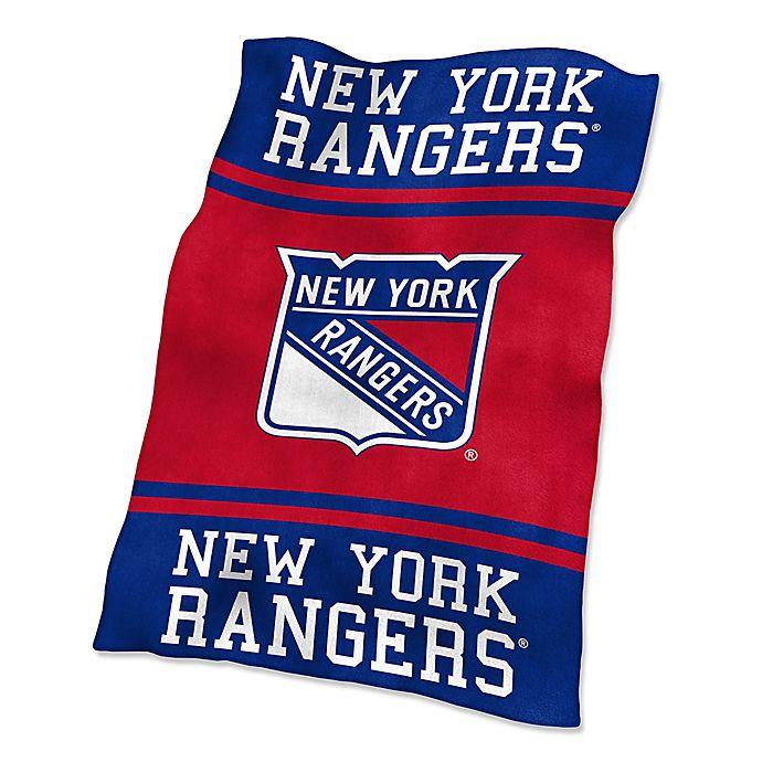 Alternate image 1 for NHL New York Rangers UltraSoft Blanket