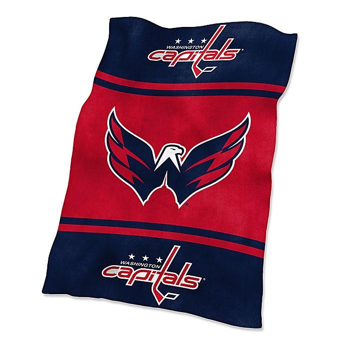 Alternate image 1 for NHL Washington Capitals UltraSoft Blanket