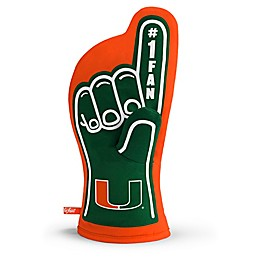 University of Miami #1 Fan Oven Mitt