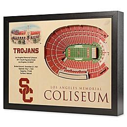 USC 25-Layer StadiumViews 3D Wall Art