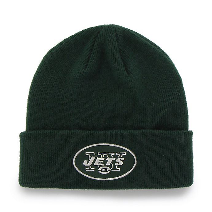 Alternate image 1 for NFL New York Jets Mass Cuff Knit Cap Beanie