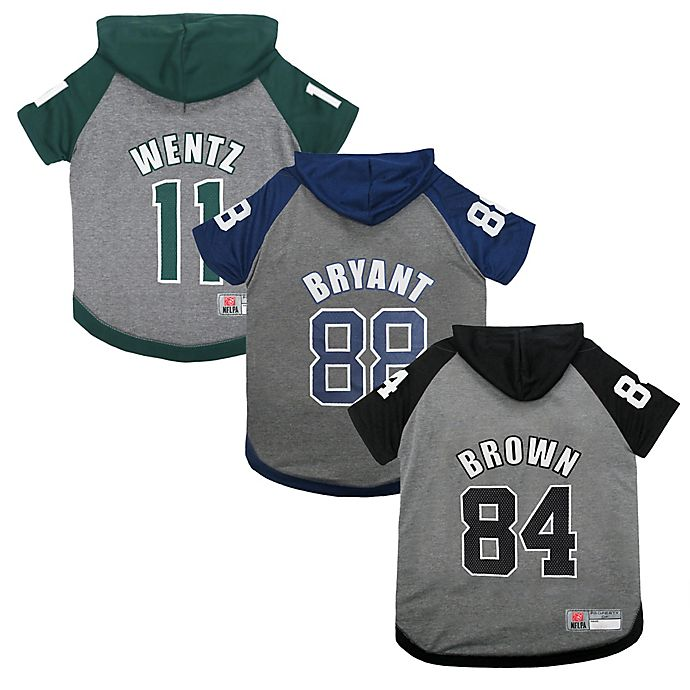 fb9a783b NFL Player Pet Hoodie T-Shirt Collection | Bed Bath & Beyond