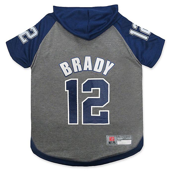 a0143f7a7a8 NFL New England Patriots Tom Brady Pet Hoodie T-Shirt | Bed Bath ...