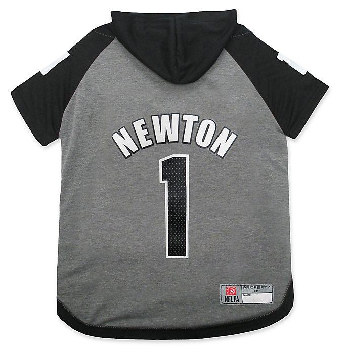 Alternate image 1 for NFL Carolina Panthers Cam Newton Medium Pet Hoodie T-Shirt