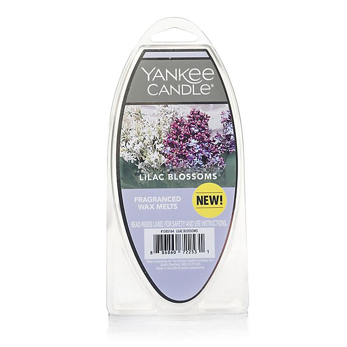 Alternate image 1 for Yankee Candle® Lilac Blossoms 6-Pack Fragrance Wax Melts