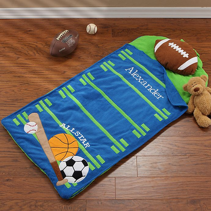 Alternate image 1 for All Star Sports Personalized Nap Mat by Stephen Joseph