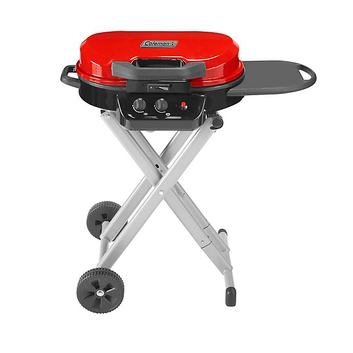 Alternate image 1 for Coleman® RoadTrip® 225 Portable Stand-Up 2-Burner Propane Grill in Red