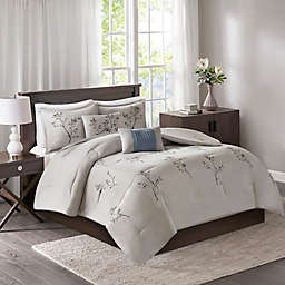 510 Design Katia 5-Piece Embroidered Floral Comforter Set