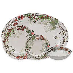 Holiday Wreath Dinnerware Collection
