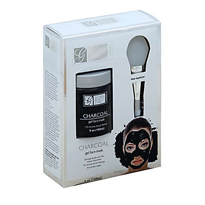 Global Beauty Care® 5 oz. Premium Charcoal Gel Face Mask with Applicator