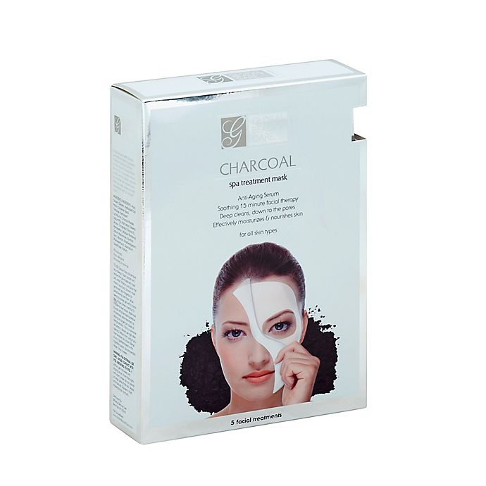 ef2aa7f5612 Global Beauty Care® 5-Count Premium Charcoal Spa Treatment Mask ...