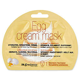 iN.gredients Egg Cream Facial Mask