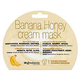 iN.gredients Banana Honey Cream Facial Mask