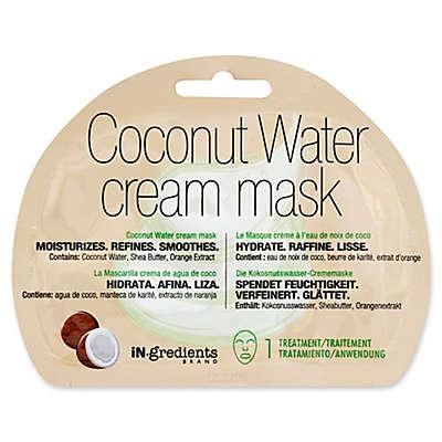 iN.gredients Coconut Water Cream Facial Mask