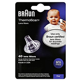 Braun® 40-Count Thermoscan Lens Filters