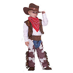 Size 3-4T Cowboy Child's Halloween Costume