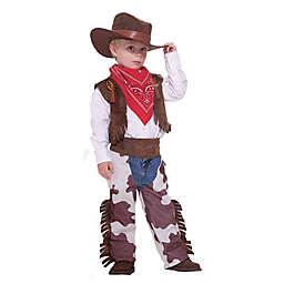 Size 3-4T Cowboy Child's Halloween Costume