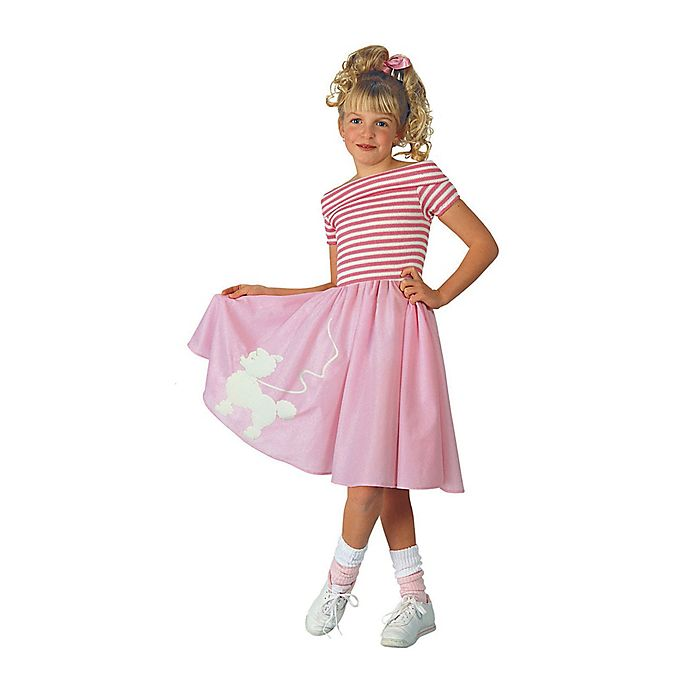 Alternate image 1 for Small Nifty Fifties Child's Halloween Costume