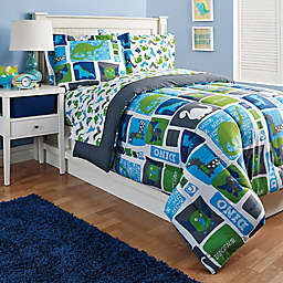 Kidz Mix Dinosaur Reversible Comforter Set