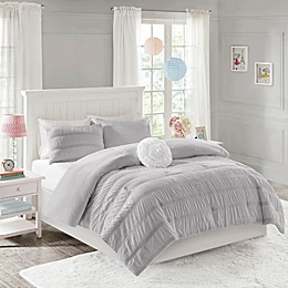 Mi Zone Bella Ruched Reversible Comforter Set