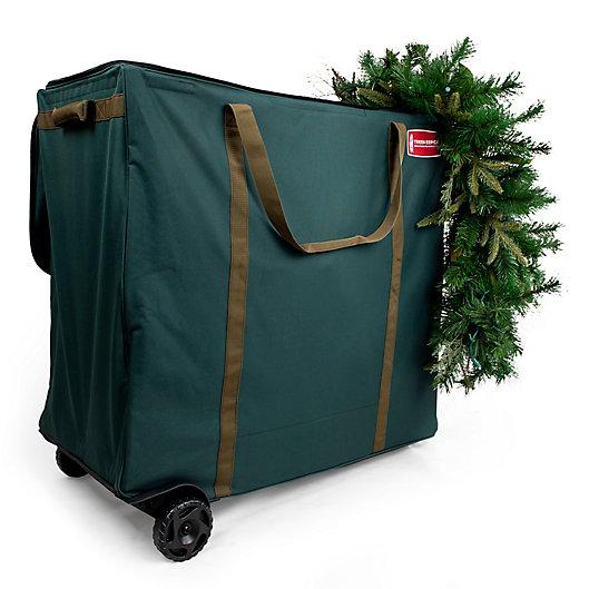 Alternate image 1 for TreeKeeper Big Wheel Multi-Use Storage Bag in Green