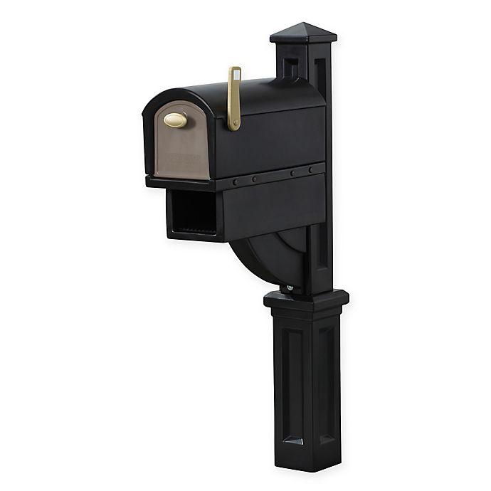 Alternate image 1 for Step2 MailMaster® Hudson Mailbox™ in Black