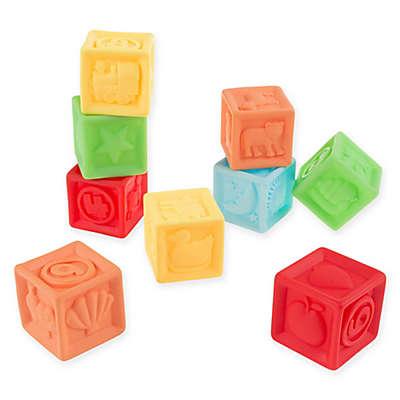 Hey! Play! 9-Piece 123 Soft Rubber Blocks Set