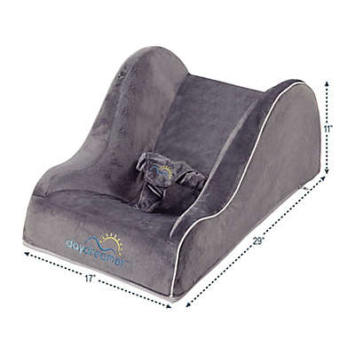 Dexbaby Daydreamer Inclined Infant Sleeper/Napper in Grey