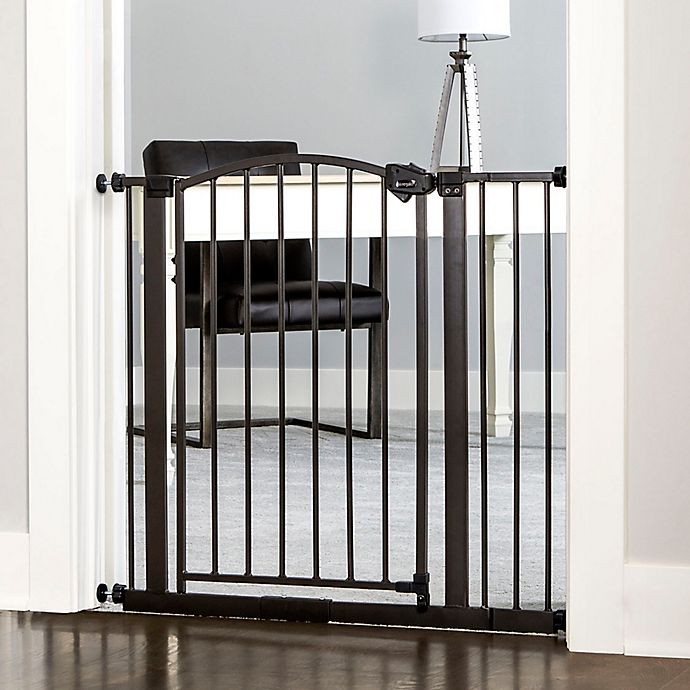 Alternate image 1 for Regalo® Easy-Step Arched Decor Gate in Bronze